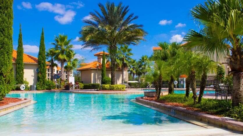 Hotéis bons para família em Orlando:hotel Tuscana Resort Orlando by Aston