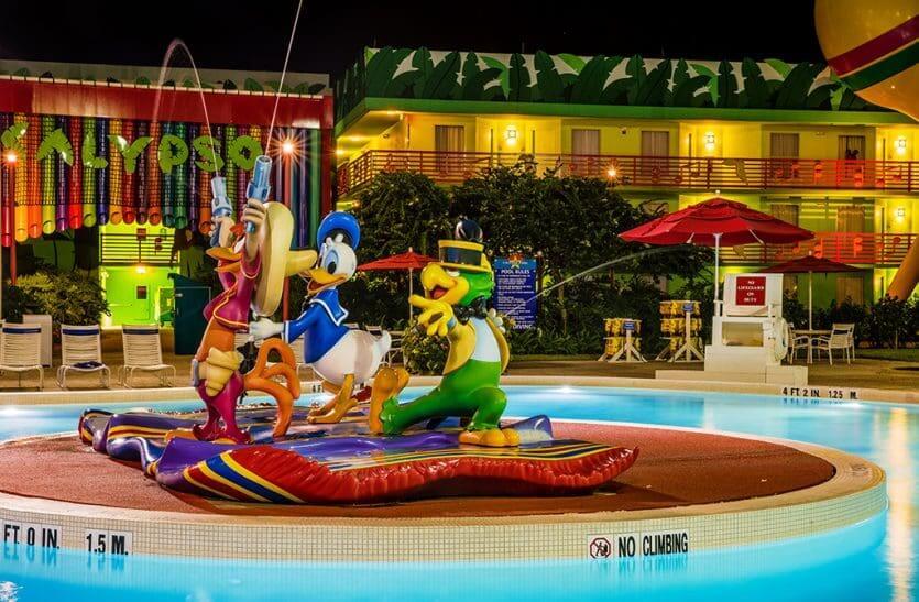 Hotéis mais baratos da Disney em Orlando: hotel Disney's All-Star Music Resort
