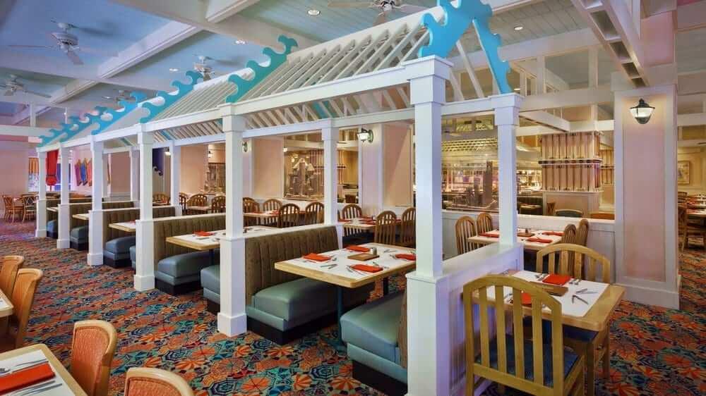 Disney Orlando para crianças: restaurante Cape May Cafe