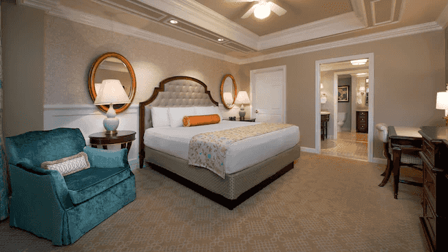 The Villas at Disney's Grand Floridian Resort & Spa: quarto