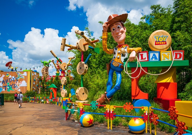 Parque Hollywood Studios da Disney Orlando: Toy Story Land