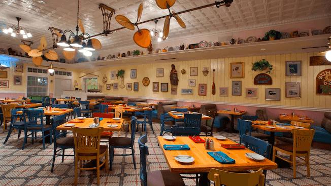 Disney's Old Key West Resort: Restaurante Olivia's Cafe