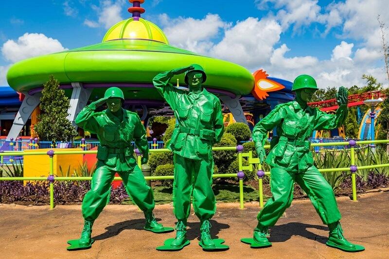Nova área de Toy Story no Disney Hollywood Studios: soldadinhos de brinquedo