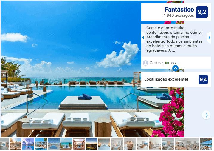 Hotéis de luxo em Miami: 1 Hotel South Beach
