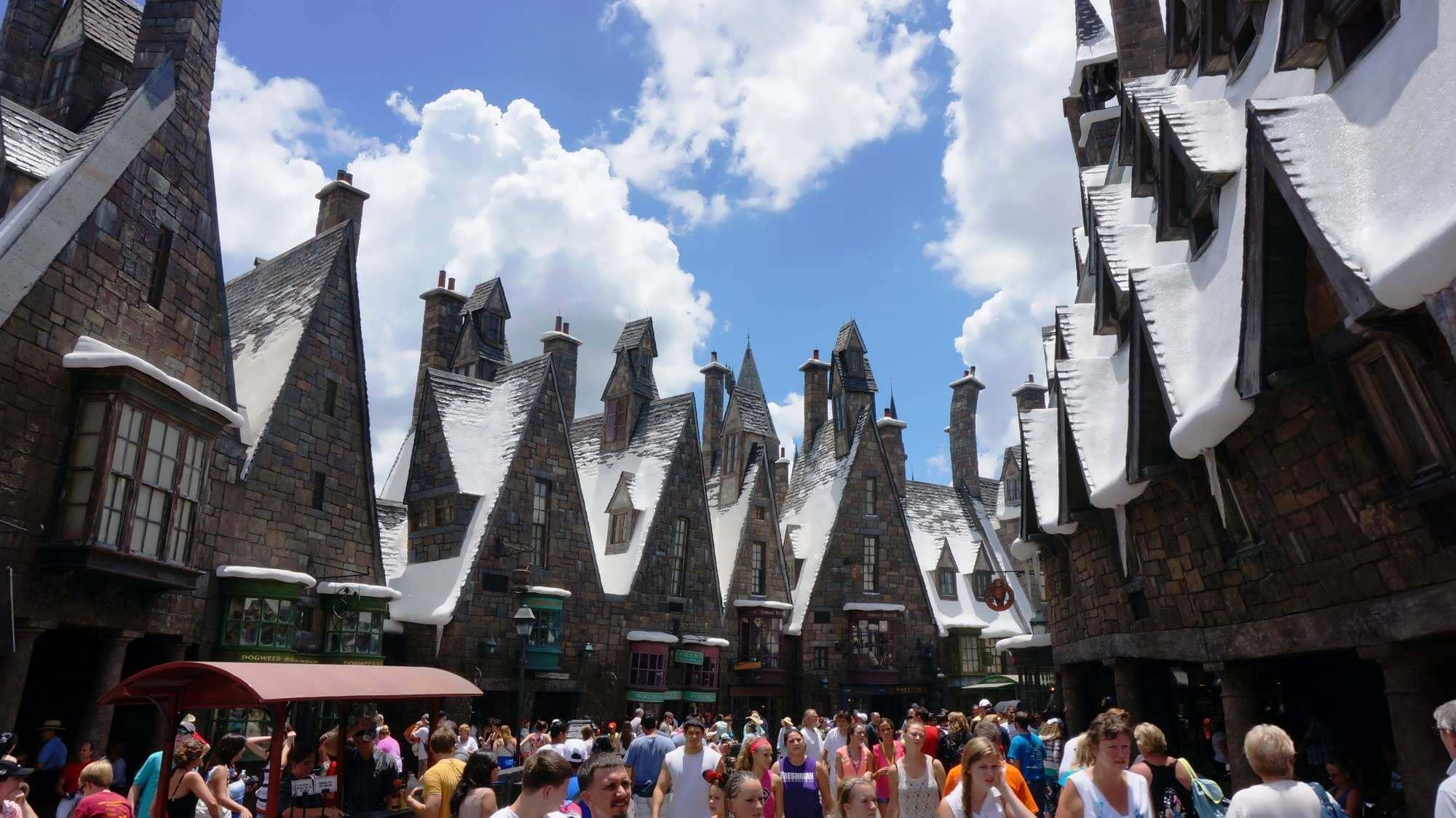 Parque Islands of Adventure Orlando: The Wizarding World of Harry Potter - Hogsmeade