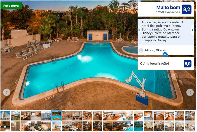 Dicas de hotéis em Orlando: Hotel Best Western Lake Buena Vista