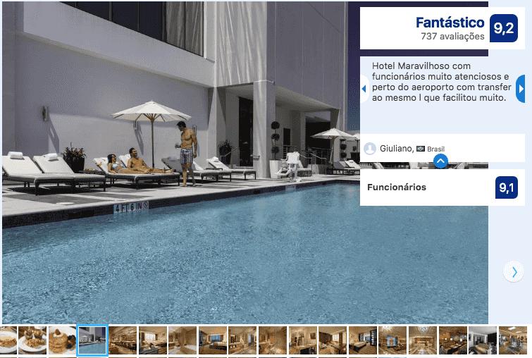 Hotéis de luxo em Miami: EB Hotel Miami