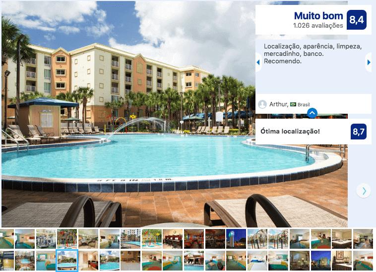Dicas de hotéis em Orlando: Hotel Holiday Inn Resort Lake Buena Vista