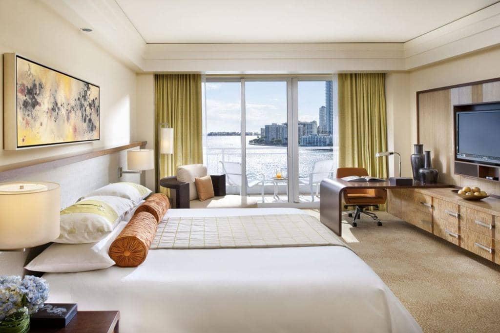 Hotéis de luxo em Miami: Hotel Mandarin Oriental - quarto