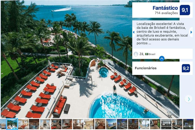 Hotéis de luxo em Miami: Hotel Mandarin Oriental