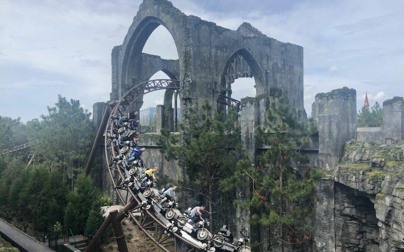 Novos preços dos ingressos da Universal Orlando em 2019: Hagrid's Magical Creatures Motorbike Adventure