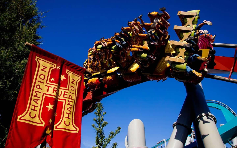 Nova montanha-russa do Harry Potter no Islands of Adventure em Orlando: The Dragon Challenge
