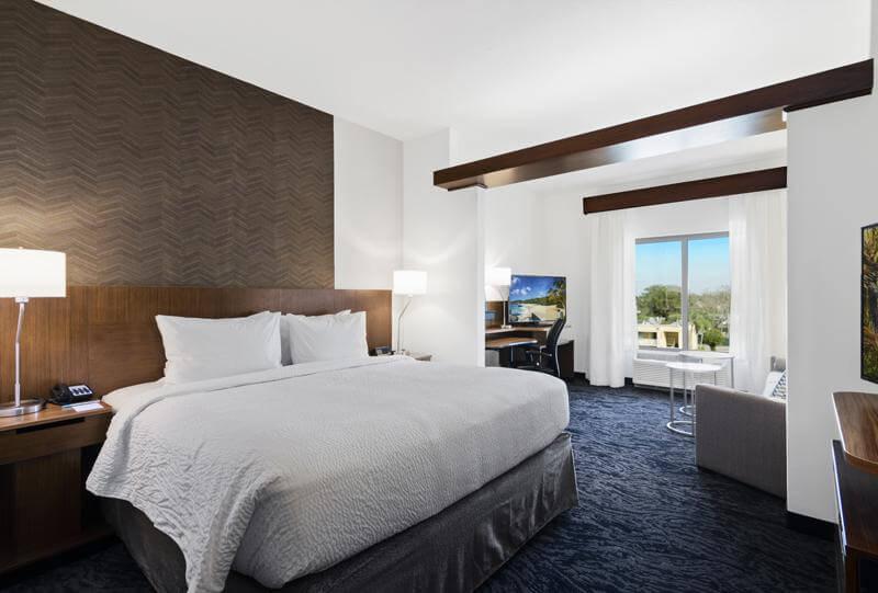 Dicas de hotéis em São Petersburgo: Hotel Fairfield Inn & Suites by Marriott - quarto