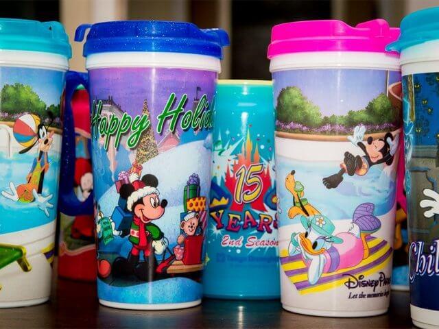 Copo com refil de bebidas na Disney Orlando