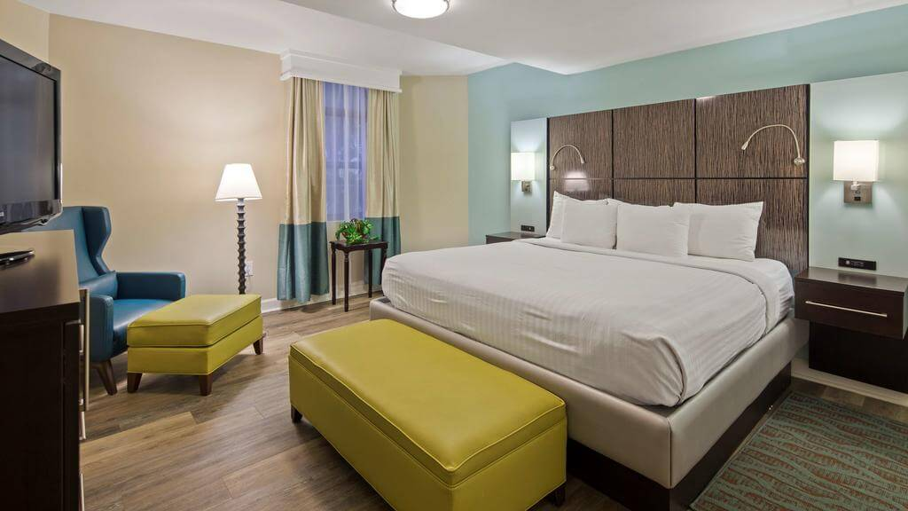 Dicas de hotéis em Saint Augustine: HotelBest Western St. Augustine Beach Inn - quarto