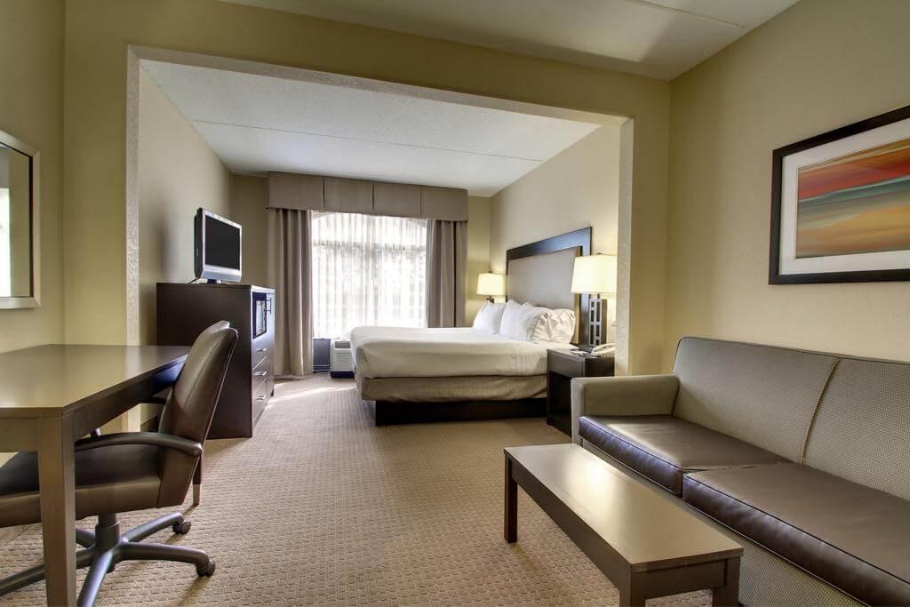 Dicas de hotéis em Jacksonville: Hotel Holiday Inn Express & Suites - quarto