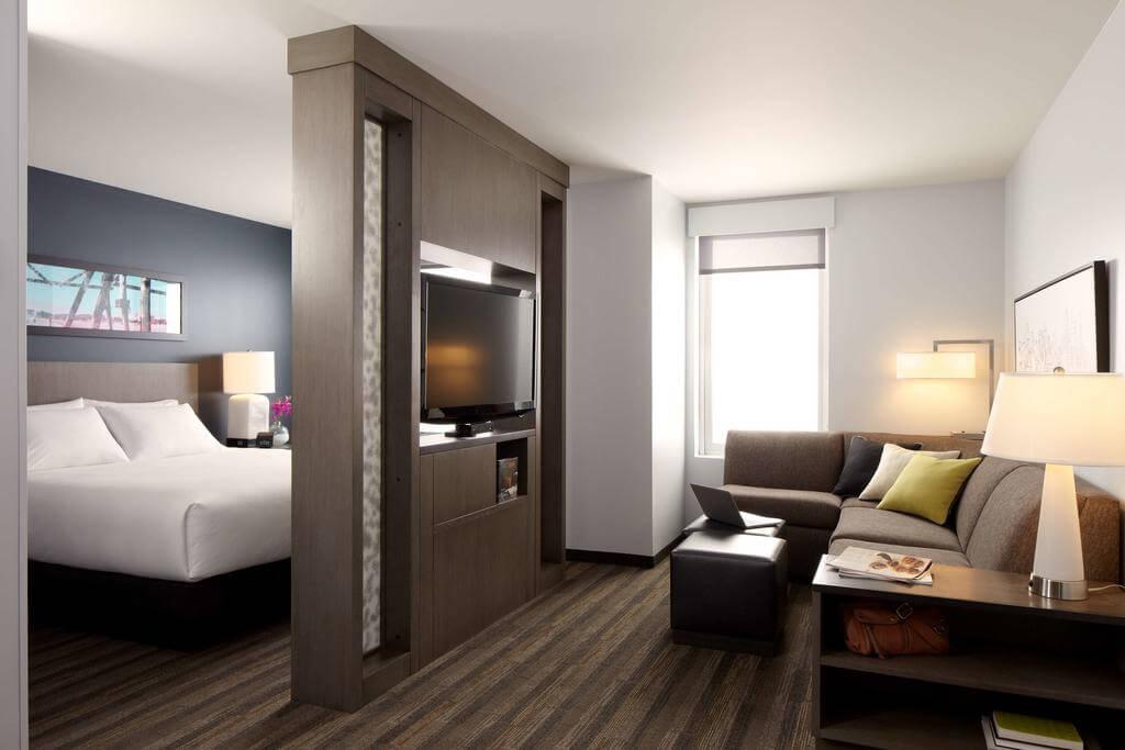 Dicas de hotéis em Naples: Hotel Hyatt House - quarto
