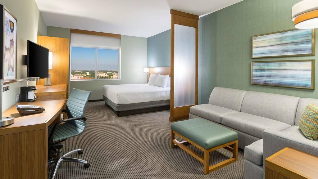 Hotéis de luxo em Boca Raton: Hotel Hyatt Place - quarto