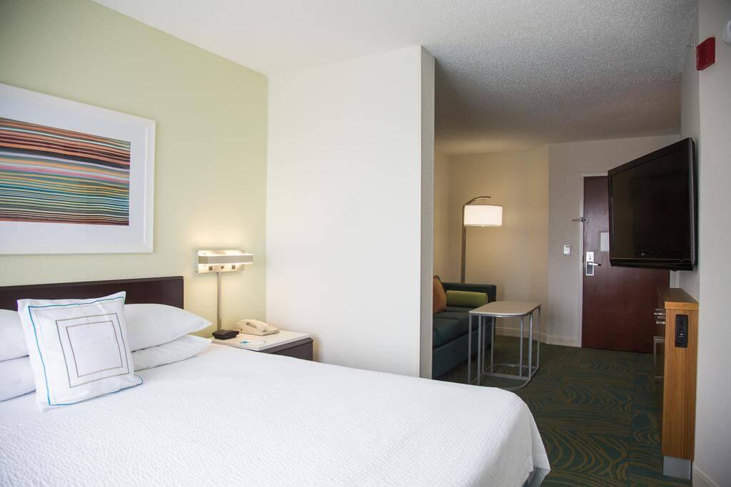 Dicas de hotéis em Jacksonville: Hotel SpringHill Suites - quarto