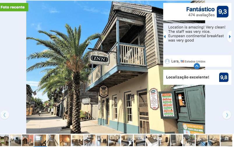 Melhores hotéis em Saint Augustine: HotelSt George Inn
