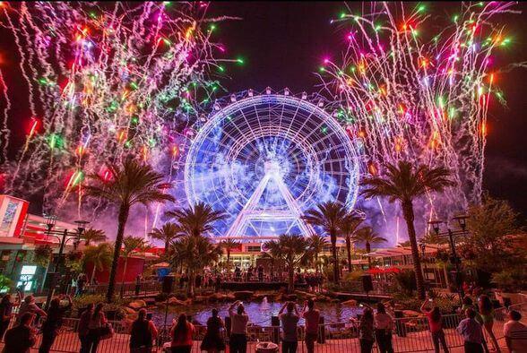 O que fazer no Ano-Novo em Orlando em 2018: ICON Orlando 360 na International Drive
