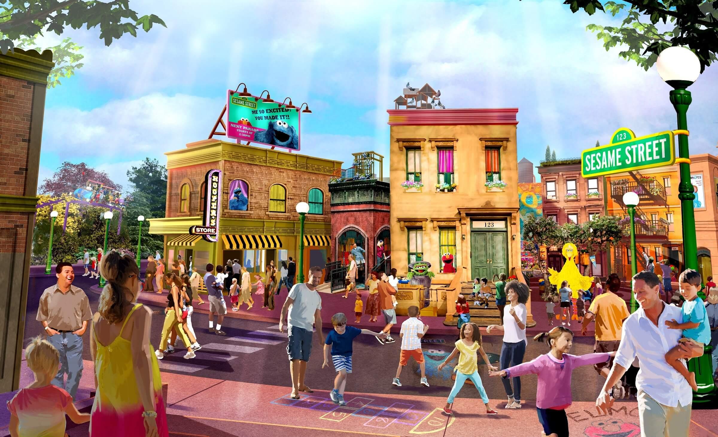 Corrida Furry Friends Fun Run no SeaWorld Orlando: Sesame Street