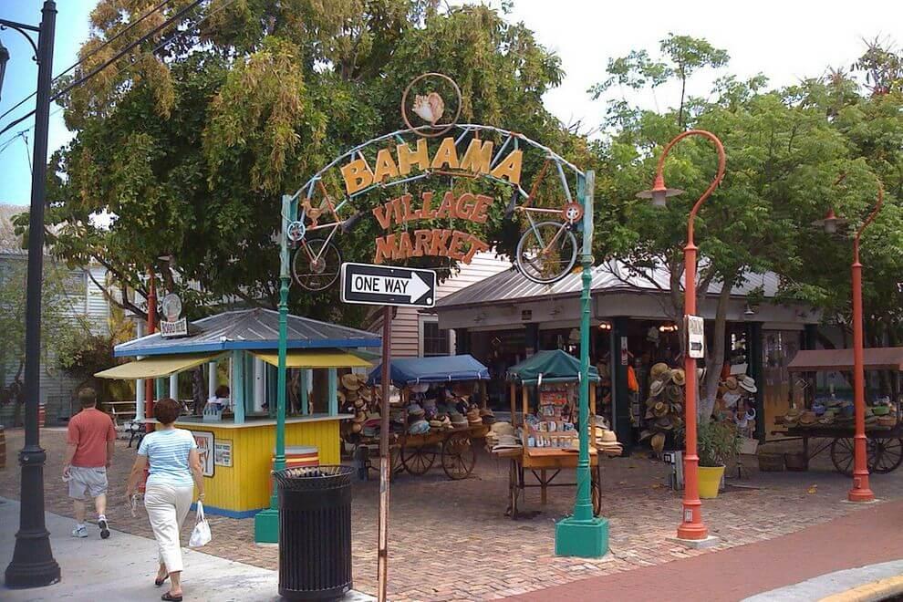 Compras em Key West: Bahama Village Market
