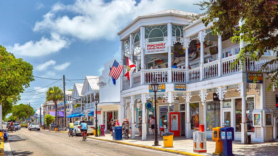 Compras em Key West: Duval Street