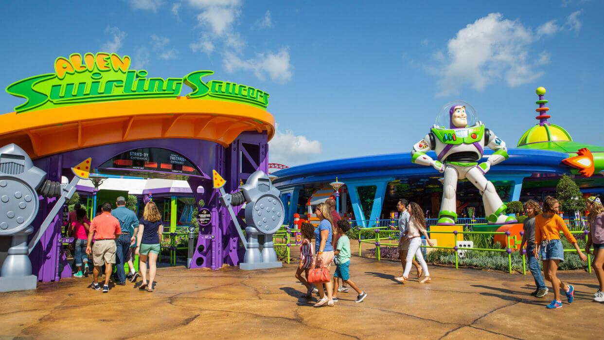 Parque Hollywood Studios da Disney Orlando: fila em atração