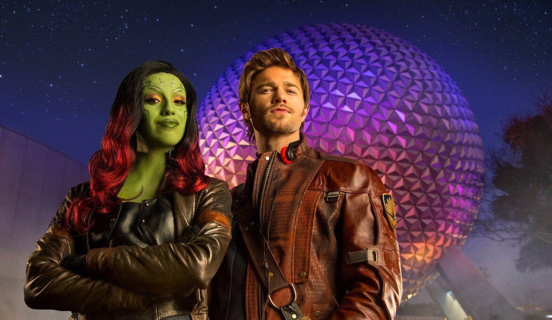 Show dos Guardiões da Galáxia no Disney Epcot