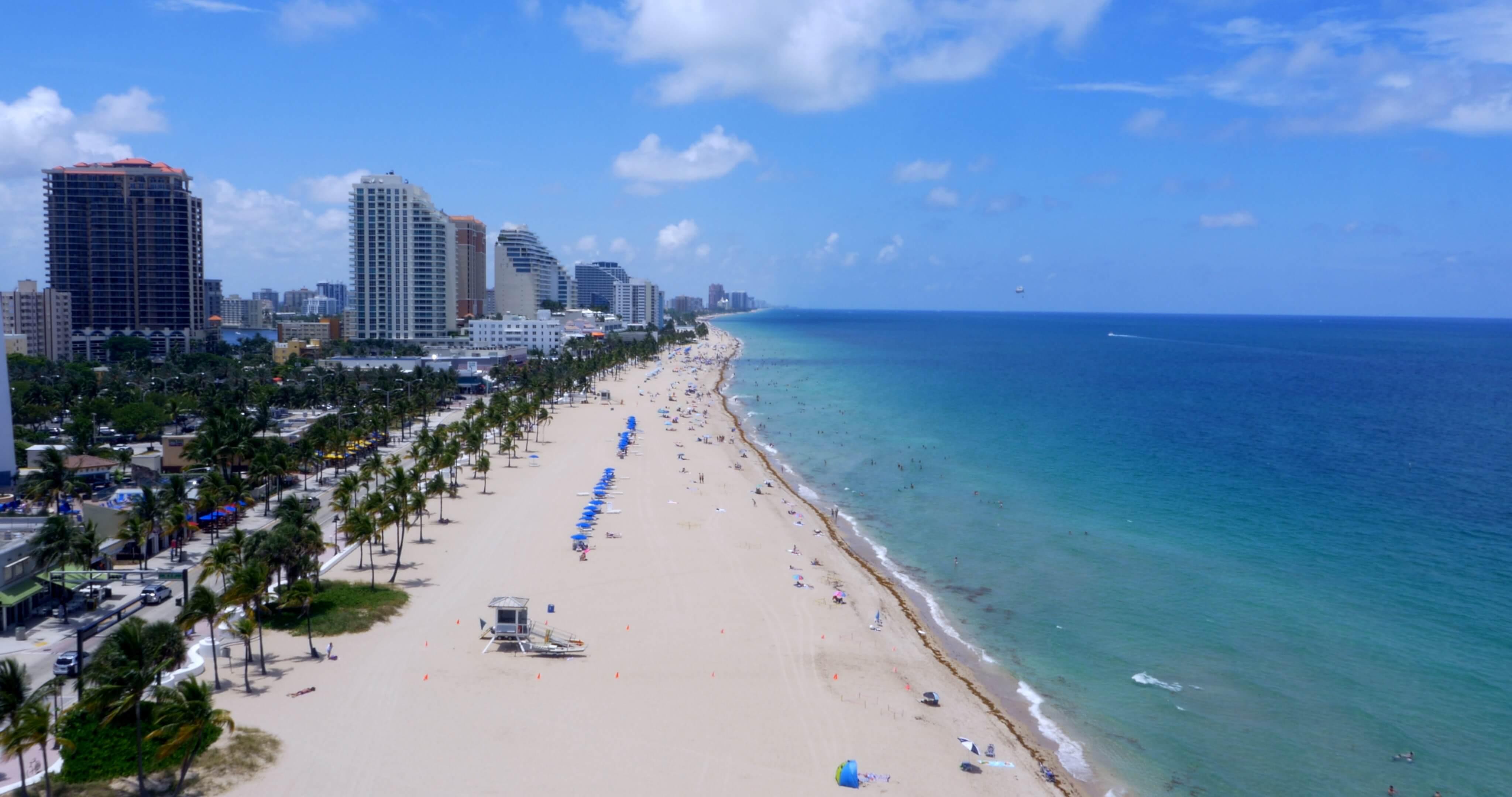 Pontos turísticos em Fort Lauderdale: Las Olas Beach