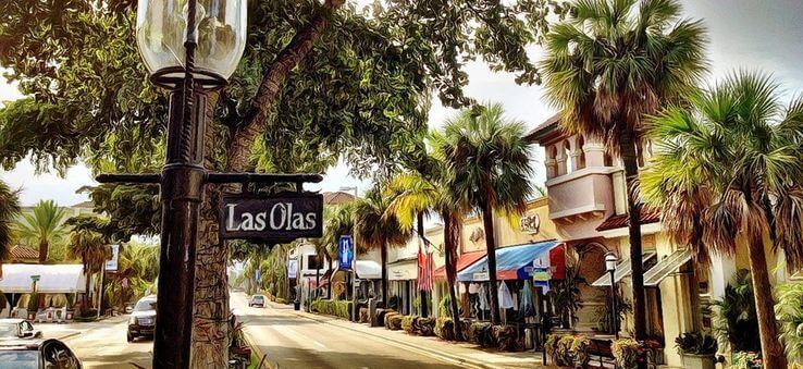 O que fazer em Fort Lauderdale: rua Las Olas Boulevard