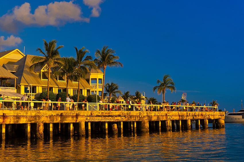 O que fazer em Key West: Mallory Square