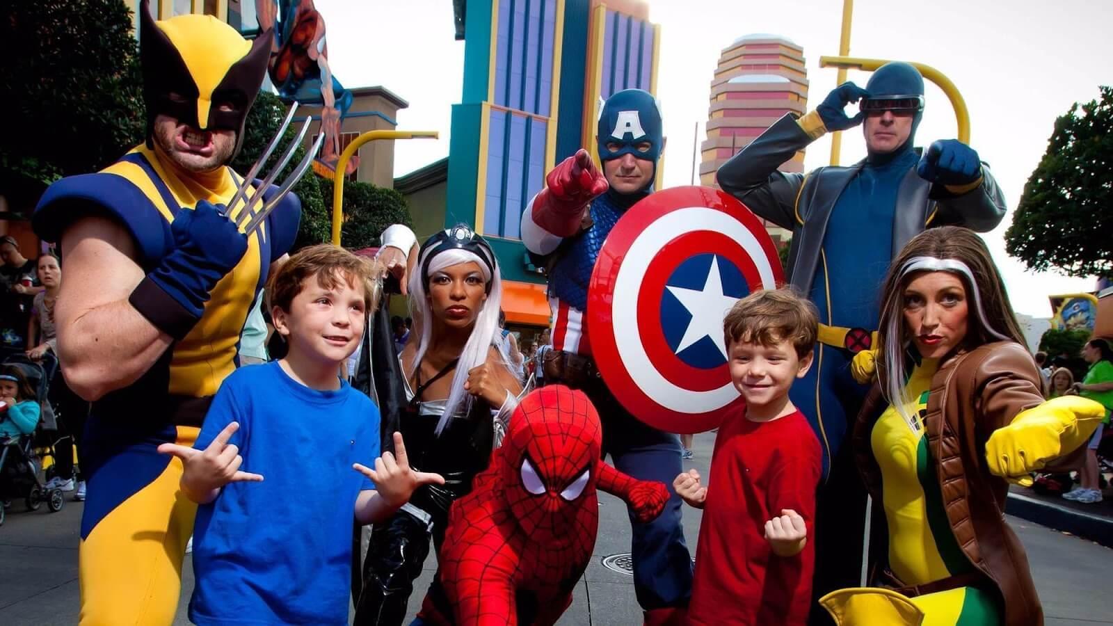 Novos preços dos ingressos da Universal Orlando em 2019: Marvel Character Dinner