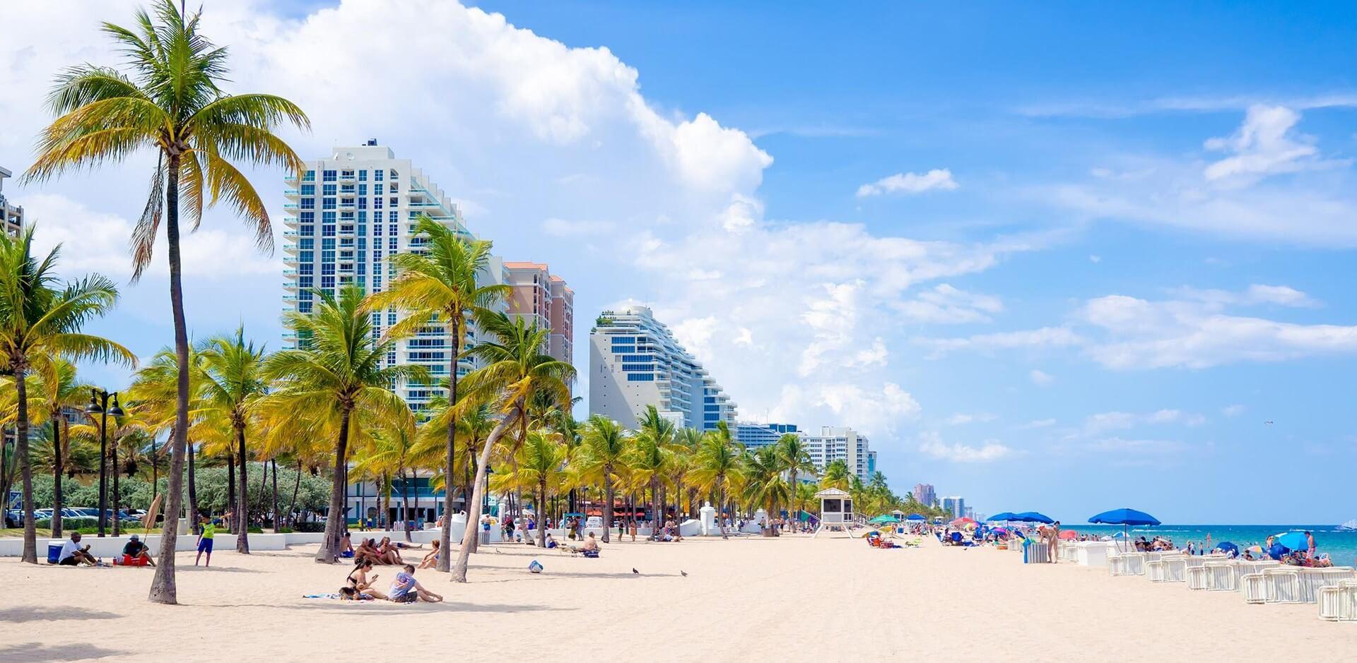 Praias em Fort Lauderdale: Fort Lauderdale Beach