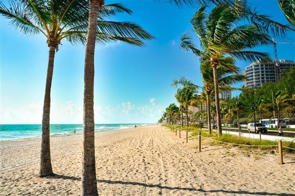 O que fazer em Fort Lauderdale: praia Fort Lauderdale Beach