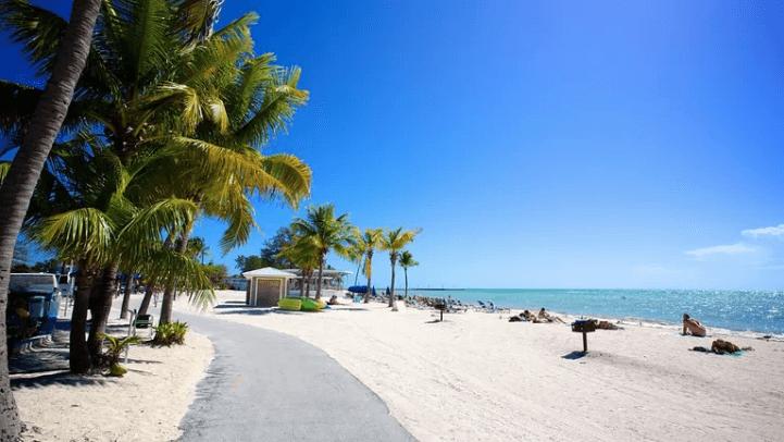 Praias em Key West: Higgs Beach