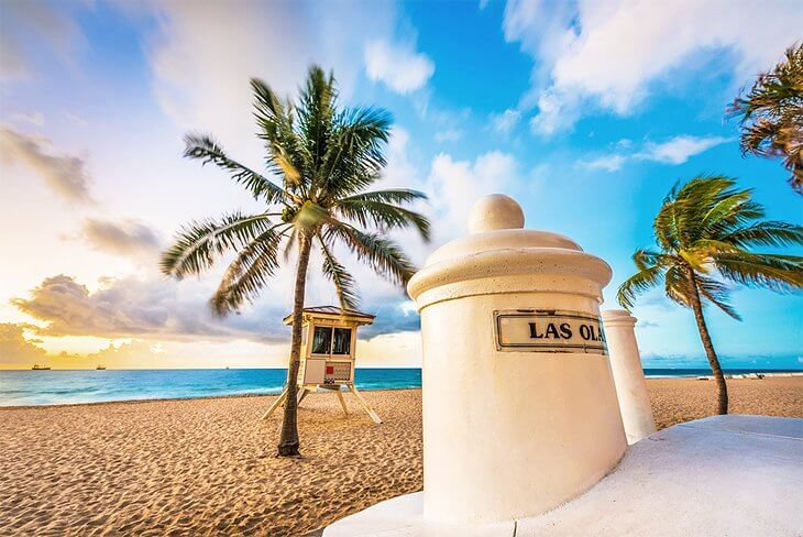 Praias em Fort Lauderdale: Las Olas Beach
