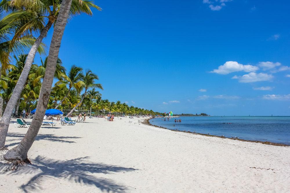 Praias em Key West: Smathers Beach