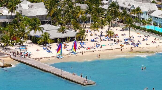 Praias em Key West: South Beach