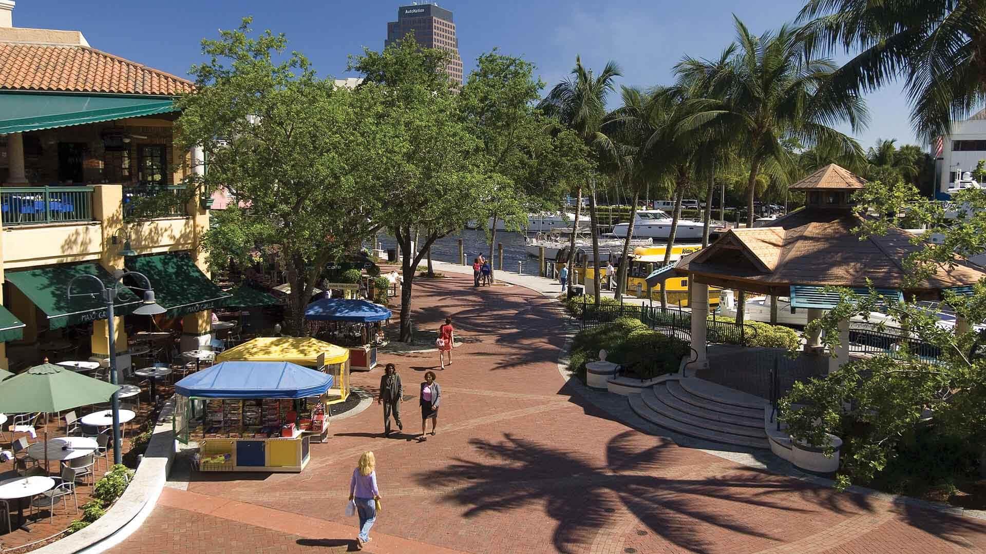 O que fazer em Fort Lauderdale: Riverwalk