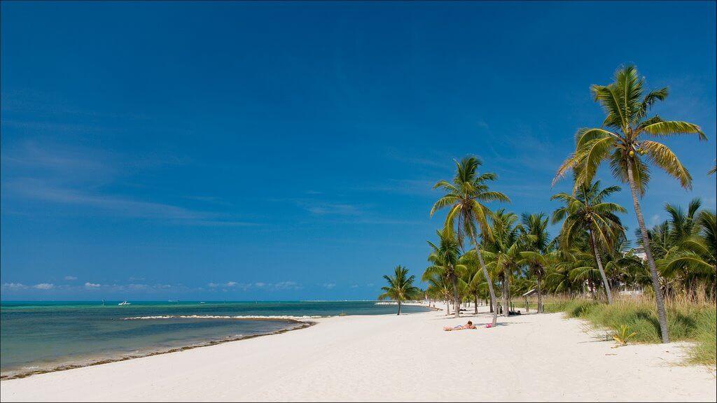 Pontos turísticos em Key West: Smathers Beach