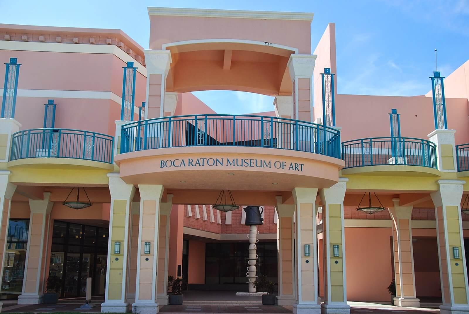 Pontos turísticos em Boca Raton: Boca Raton Museum of Art