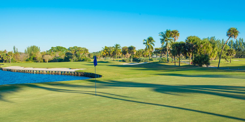 O que fazer em Palm Beach: campo de golfe