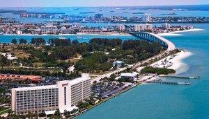 Onde ficar em Clearwater: cidade