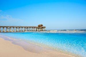 Onde ficar em Cocoa Beach: praia de Cocoa Beach