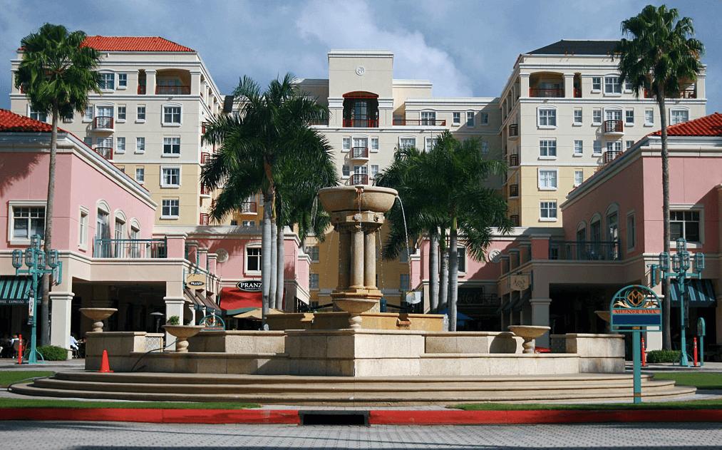 Compras em Boca Raton: Mizner Park