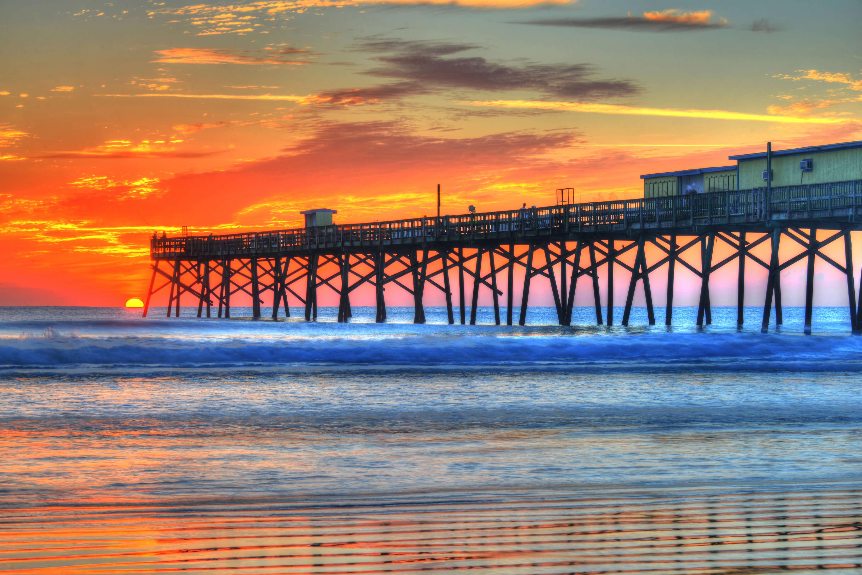 Pontos turísticos em Daytona Beach: Píer
