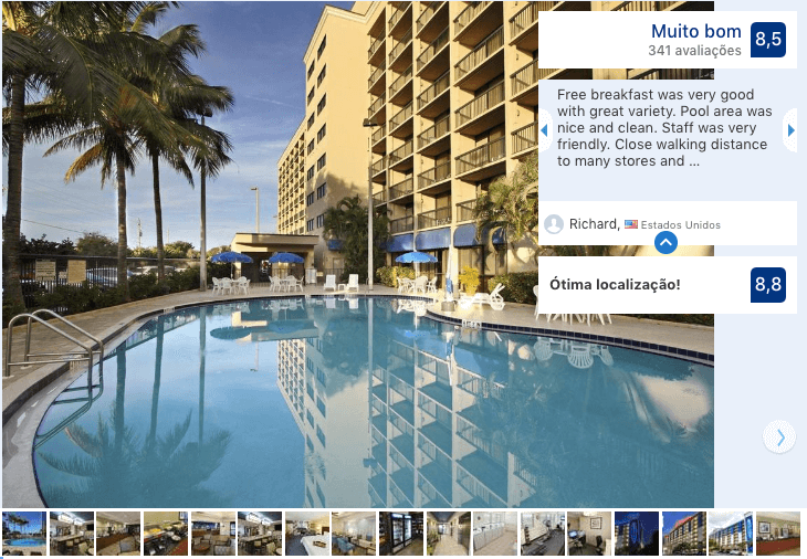 Hotéis de luxo em Cocoa Beach: Hotel Hampton Inn