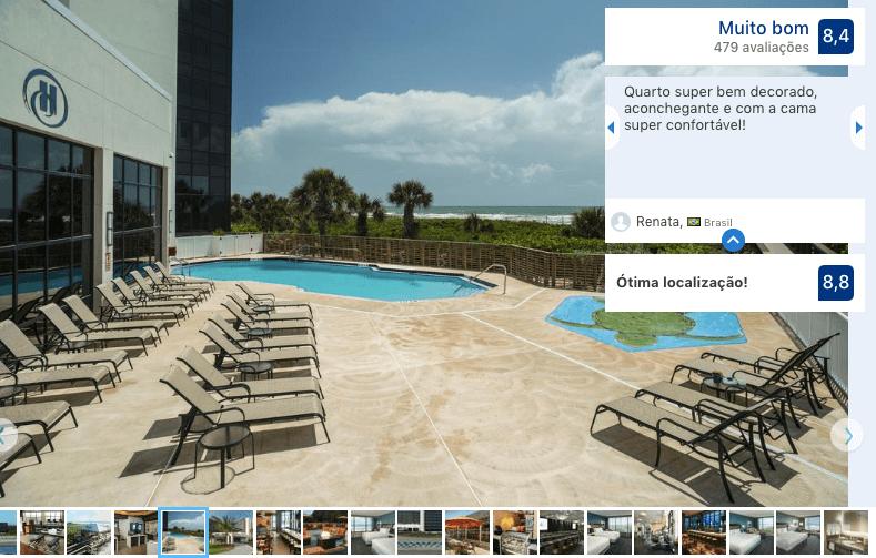 Hotéis de luxo em Cocoa Beach: Hotel Hilton